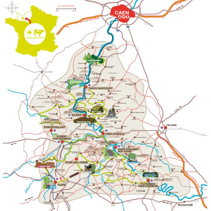 Route touristique de la Suisse Normande